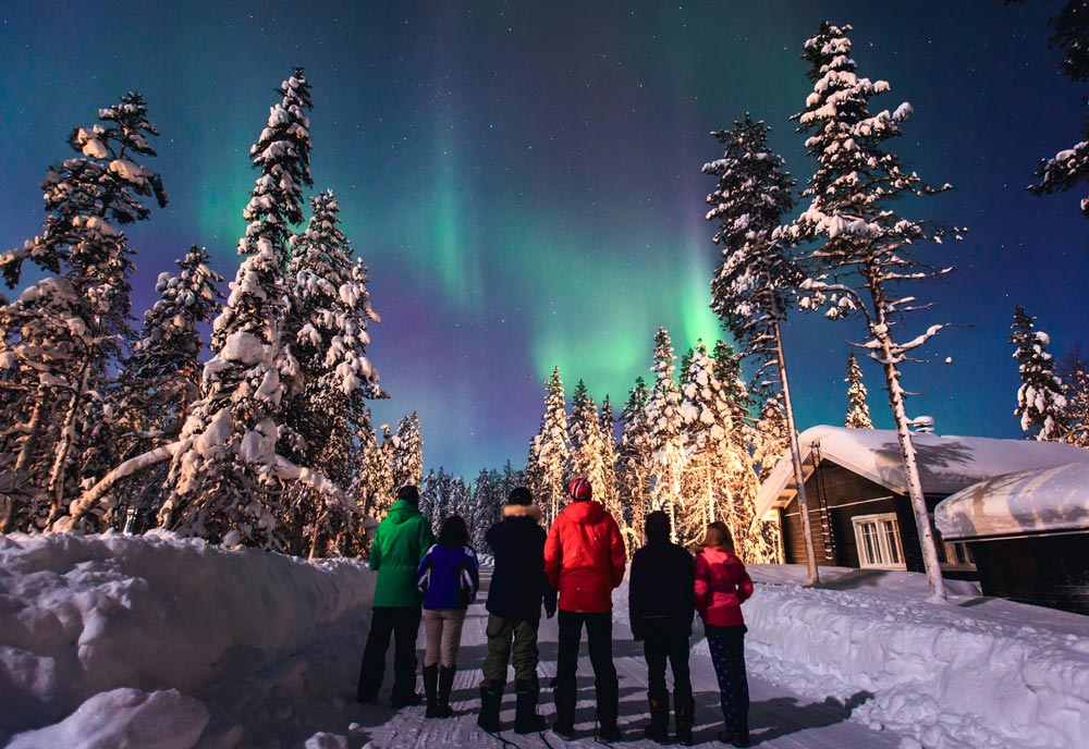 Magical lapland in 2018 oyster travel norwich before sitting down with father christmas himself come evening you can tuck into a gala buffet accompanied by festive themed fireworks solutioingenieria Image collections