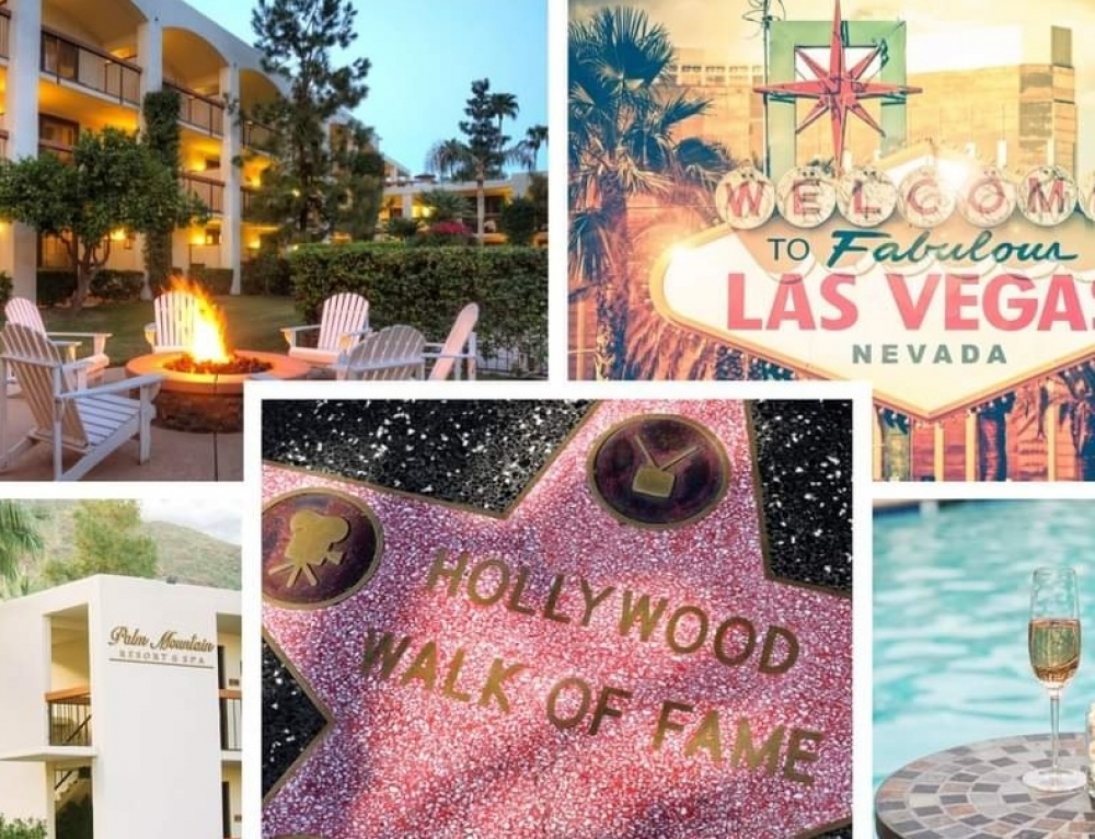 🌴🎲☀️ LA, PALM SPRINGS AND LAS VEGAS FROM £1199per person ☀️🎲🌴